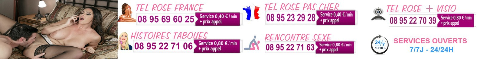 Tél rose France femmes Françaises avec webcam Skype